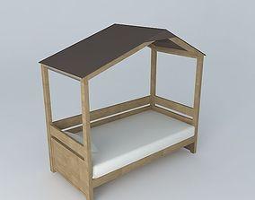 CHILD FOREST bed cabin 3D model