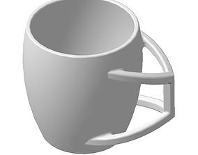 3D printable model Coffee mug breakfast