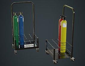 3D model Gas Cylinder 3A