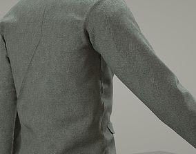 3D model Suit Jacket Fabric