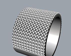 3D print model under the ring pattern