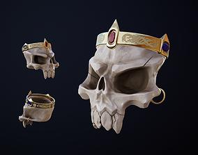 Skull of the Beast 3D asset