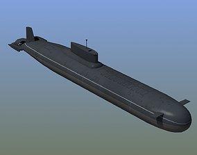 Typhoon Submarine 3D model