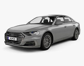 3D Audi A8 D5 L 2018