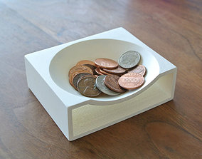 Coin Tray 3D printable model