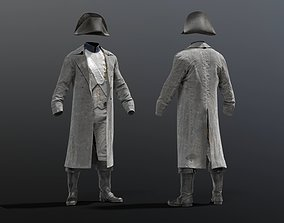 3D model SOLDIER French NAPOLEON