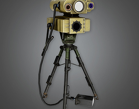3D asset Military Range Finder Viewer - MLT - PBR Game