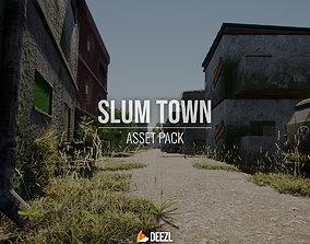 Slum Town - Asset Pack - Unity HDRP 3D model