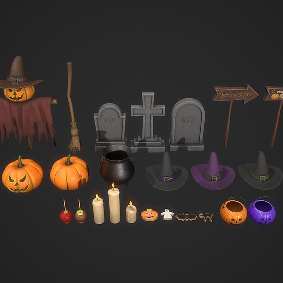 Halloween Prop Pack