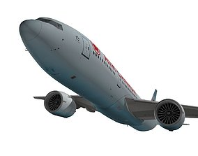 Boeing 777-200LR Air Canada 3D model