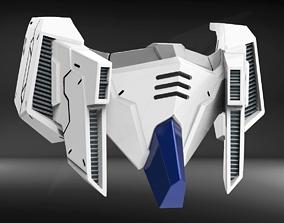3D printable model RX93V2 Custom Mask Fan Art