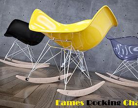 3D model Eames Rocking Chair