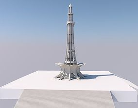 Minar-e-Pakistan Lahore 3D model