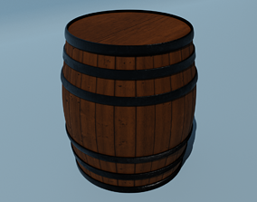 canister Barrel 3D model