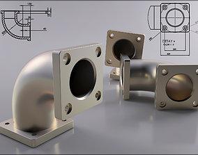 Iron and PVC Tube original sizes Ready to 3D Pri