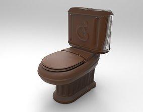 toilet 3D printable model