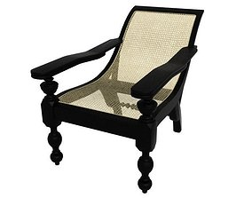 3D model Old Arm Chair