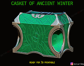 Casket Of Ancient Winter - Marvel Comic 3D print model
