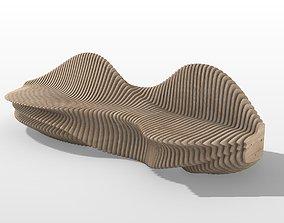 3D Parematric Bench