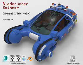 3D asset Bladerunner Original Spinner