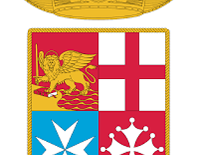 Marina Militare logo 3D printable model