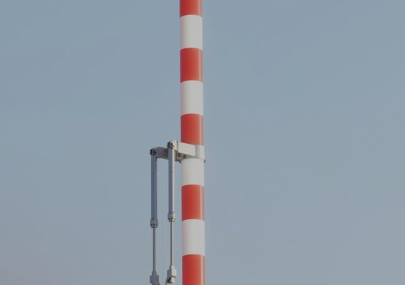 Modern Railway Barriers Set (WIP-4) Blender-2.91 Eevee
