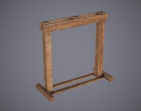 Medieval Rack 2 3D model