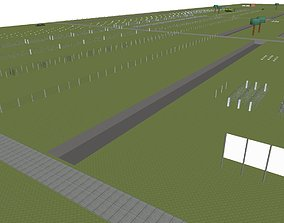 3D obstacle course for engineering troops