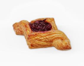 3D Danish Pastry