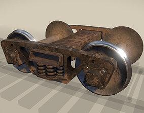 RailwayCarriage 3D model PBR