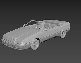 3D print model Chrysler Lebaron Gtc Convertible