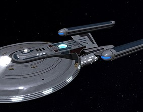 STAR TREK - USS LEXINGTON NCC-3092 3D