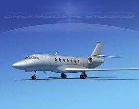 Dassault Falcon 2000 Bare Metal 3D model