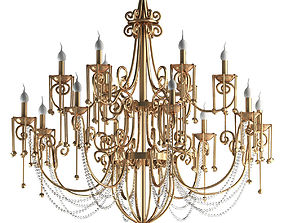 Gold Lamp 3D
