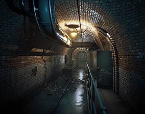 3D asset Sewerage UE4