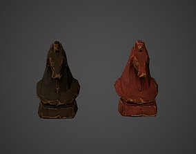 Medieval Horse Decors Low Poly Game Ready 3D model