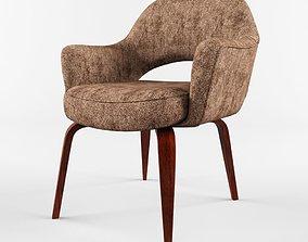 3D KNOLL Saarinen Executive Arm Chair