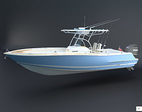 Catalina 26 Boat Chris Craft 3D asset