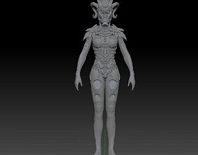 3D print model Hell Queen creature