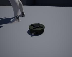 Antipersonnel landmine PMN-2 3D asset