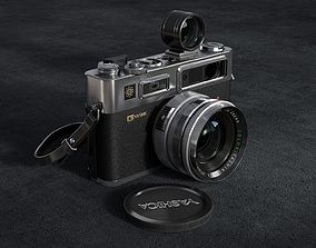 yashica 35 old camera classic camera leica 3D