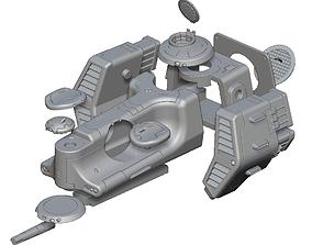 3D print model Alligator Dropship