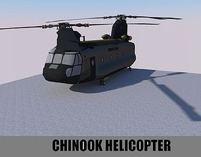 CHINOOK 3D model