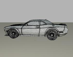 3D Dodge srt Hellcat
