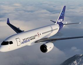 3D printable model Airbus A220