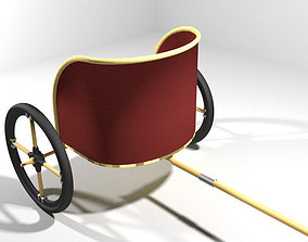 Chariot - Egyptian 3D
