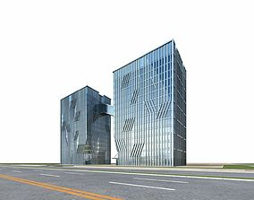 Office Building 3D architectural