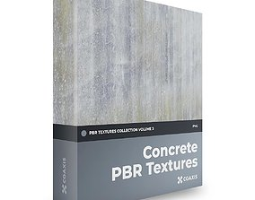 CGAxis Concrete PBR Textures Collection Volume 3 3D