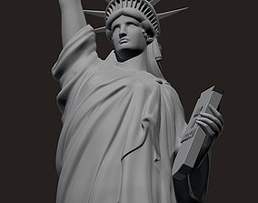 3D model new Statue of Liberty