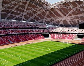 National Stadium Singapore 3D